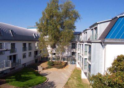 Seniorenheim Wahlscheid - Blick in den Innehof
