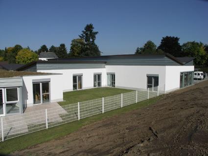 Ansicht Gartenhof Wohngruppe II
