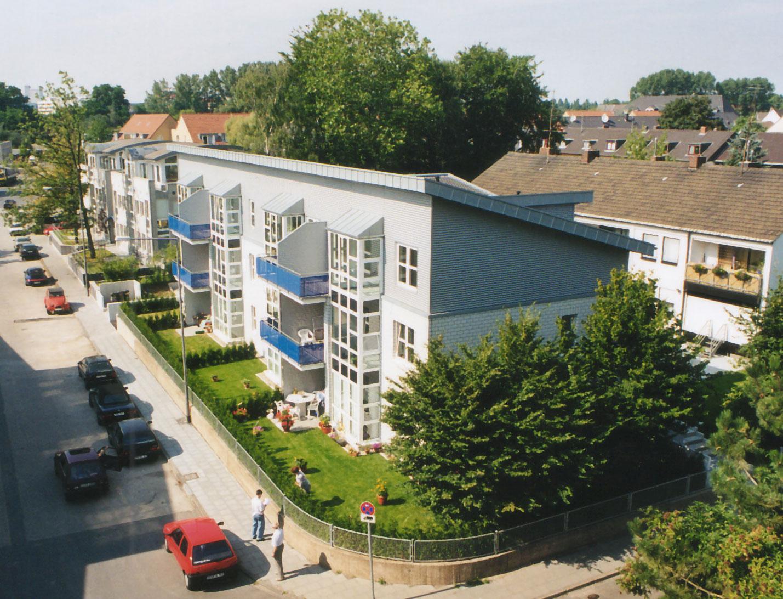 Ansicht Ecke Poller Kirchweg/Krückelstraße