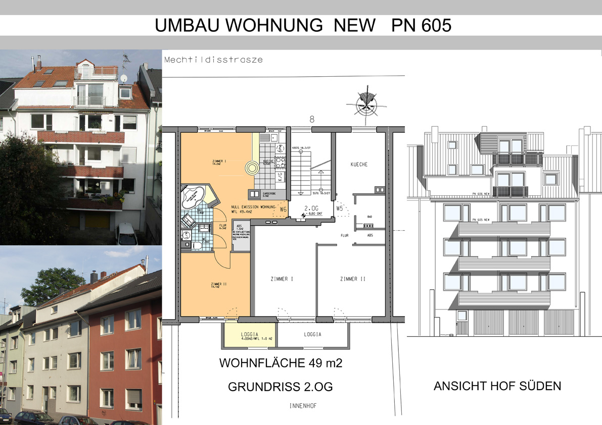 Umbau Wohnung NEW PN 605