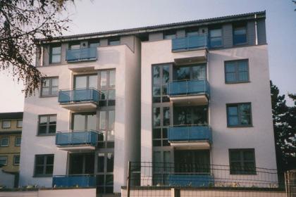 Mehrfamilienwohnhaus mit 14 Wohnungen